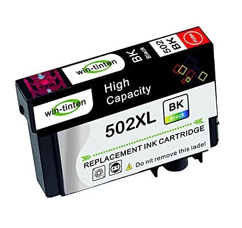 Win-Tinten 1 confezione nero di ricambio per stampanti Epson 502xl compatibili con Epson Expression Home XP-5100 XP-5105 XP-5115 XP5100 Workforce WF-2860DWF WF-2865DWF