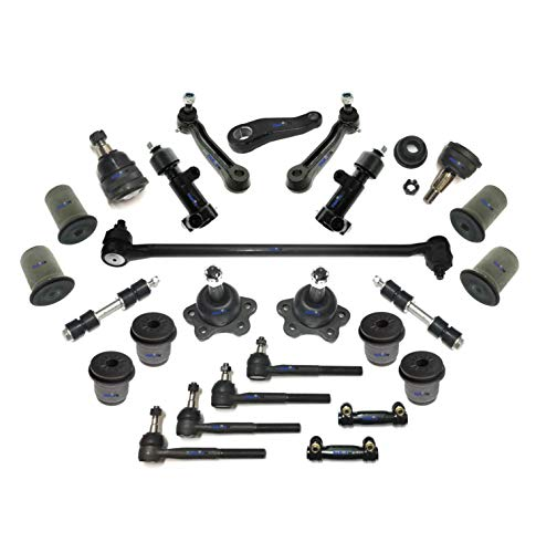 24 Pc Front Suspension & Steering Upper & Lower Ball Joints Tie Rod Ends Sway Bars Idler & Pitman Arms Drag Link