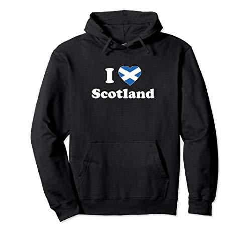 I Love Scotland I Heart Scotland Schottisches Geschenk Pullover Hoodie