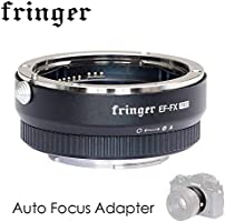 EF-FX PRO Version Auto Focus Mount Adapter Built-in Electronic Aperture for Canon EF EOS Tamron Sigma Lens to Fujifilm...