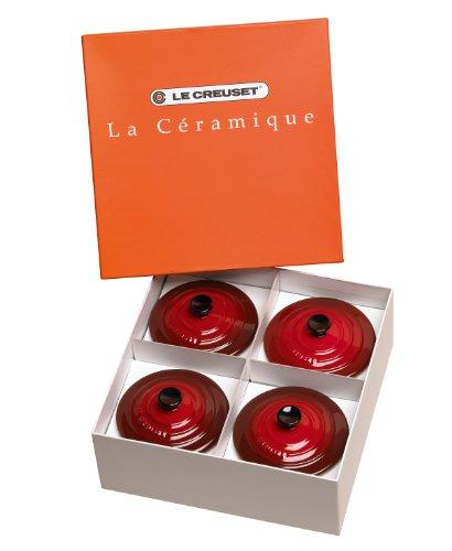 Jogo de 4 Mini Caçarolas, Le Creuset, 91006900, Vermelho
