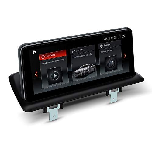 XTRONS Android 10.25 4 GB RAM 64 GB ROM, lettore multimediale per auto Octa Core 4G WiFi Qualcomm Bluetooth TPMS per BMW E81 / E82 / E87 / E88 senza display originale