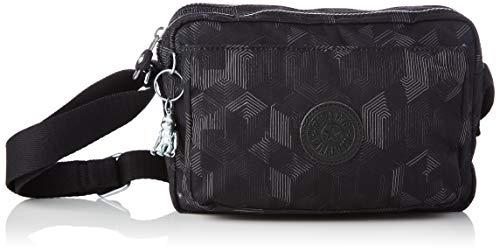Kipling Women's ABANU M Crossbody Bag, Mysterious Grid, Medium