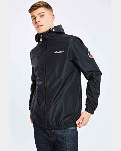 ellesse Herren Terrazzo Fz Jacket, Schwarz, XL