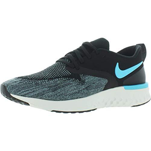 Nike Mens Odyssey React 2 Flyknit Fitness Running Shoes Black 11 Medium (D)