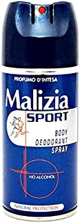 Malizia Sport Body Spray Deodorant-150 ml