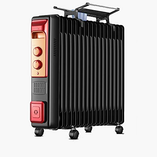 Read About Portable Oil Filled Space Heater, Constant Temperature Heat Dissipation Three-speed Oil R...