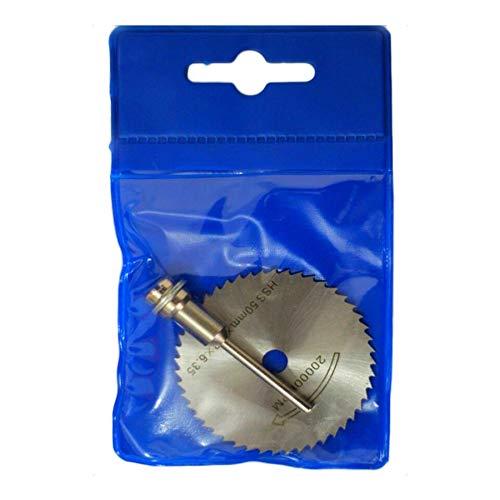 NIUPAN Elektrowerkzeug Rotationswerkzeug Miniatur HSS Kreissäge Stichsäge Elektrowerkzeugsatz Holzschneidscheibe Bohrdorn