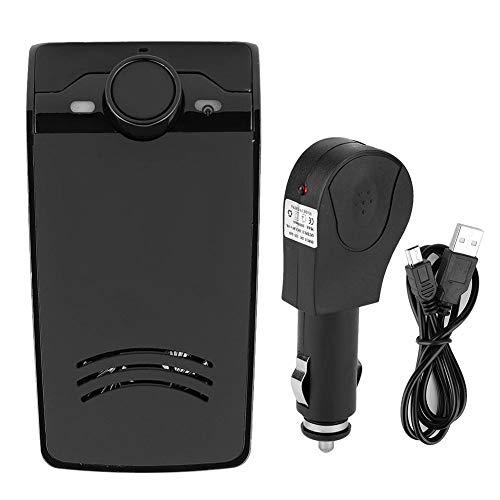 Nichhany Kit de Altavoz Manos Libres Profesional Bluetooth para Coche, Clip para Visera Solar, Altavoz Incorporado, Reproductor de música automático