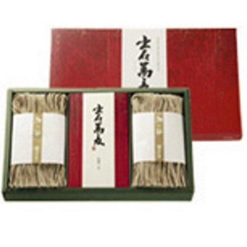 出石蕎麦(半生) 8食(つゆ付)<かけ用> ST-654