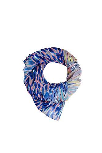 ESPRIT edc by Accessoires Damen 069CA1Q005 Schal, Blau (Blue 430), One Size (Herstellergröße: 1SIZE)