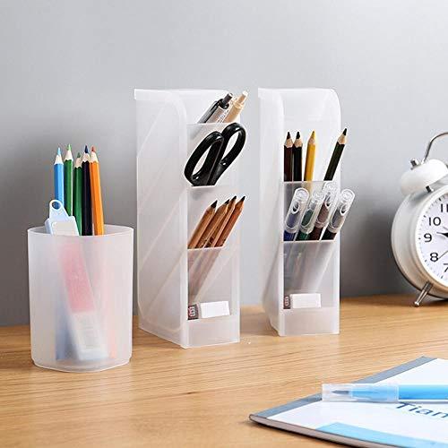 no brand AGBFJY Transparent Pen Holder Storage Box Lipstick Makeup Brush Makeup Tool Storage Box