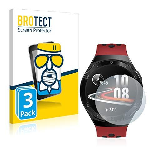 BROTECT Entspiegelungs-Panzerglasfolie kompatibel mit Huawei Watch GT 2e (3 Stück) - Anti-Reflex Panzerglas Schutz-Folie Matt
