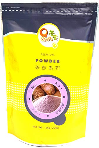 Qbubble Tea Powder Taro Powder, 2.2 Pound