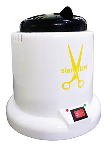 Crisnails® Esterilizador de 100W con Bolas de Cuarzo, Instrumento Desinfección y Limpieza a 250 Grados, para Peluqueria, Manicura y Pedicura, Varios Colores
