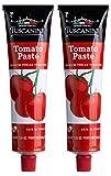 Tuscanini Tomato Paste Tube, 7.5oz (2 Pack) Made with Premium Italian Tomatoes