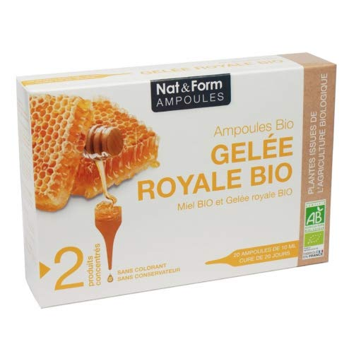 Nat & Form Gelee Royal Bio 20 Ampullen