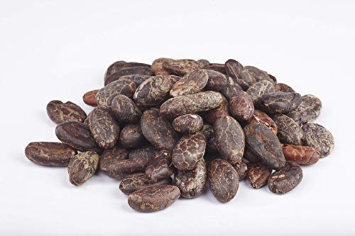 Semillas de Cacao peladas crudas Bio 1 kg habas de cacao criollo granos enteros ecológicas 100% naturales organic raw Cacao Beans 1000g
