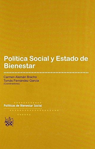 Política social y Estado de bienestar de Carmen Alemán Bracho (1 sep...