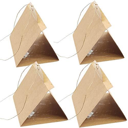 StafEco - Trampa para polillas natural para armarios, trampas para matar polillas, alquitrán y ropa, feromonas adheridas