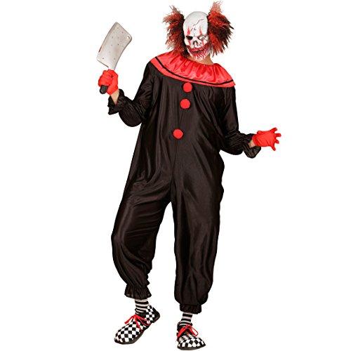 Traje Clown de Terror - XL (ES 54) | Disfraz Payaso Asesino ...