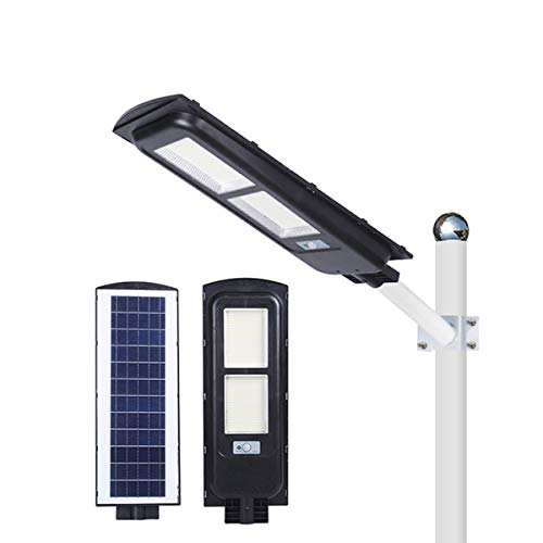YUYTIN ABS al Aire Libre Impermeable IP65 Integrado Todo en un LED Solar Luz Solar Super Bright Light Light Solar Powered para estacionamiento, Calle, Patio, Playgroud,200w