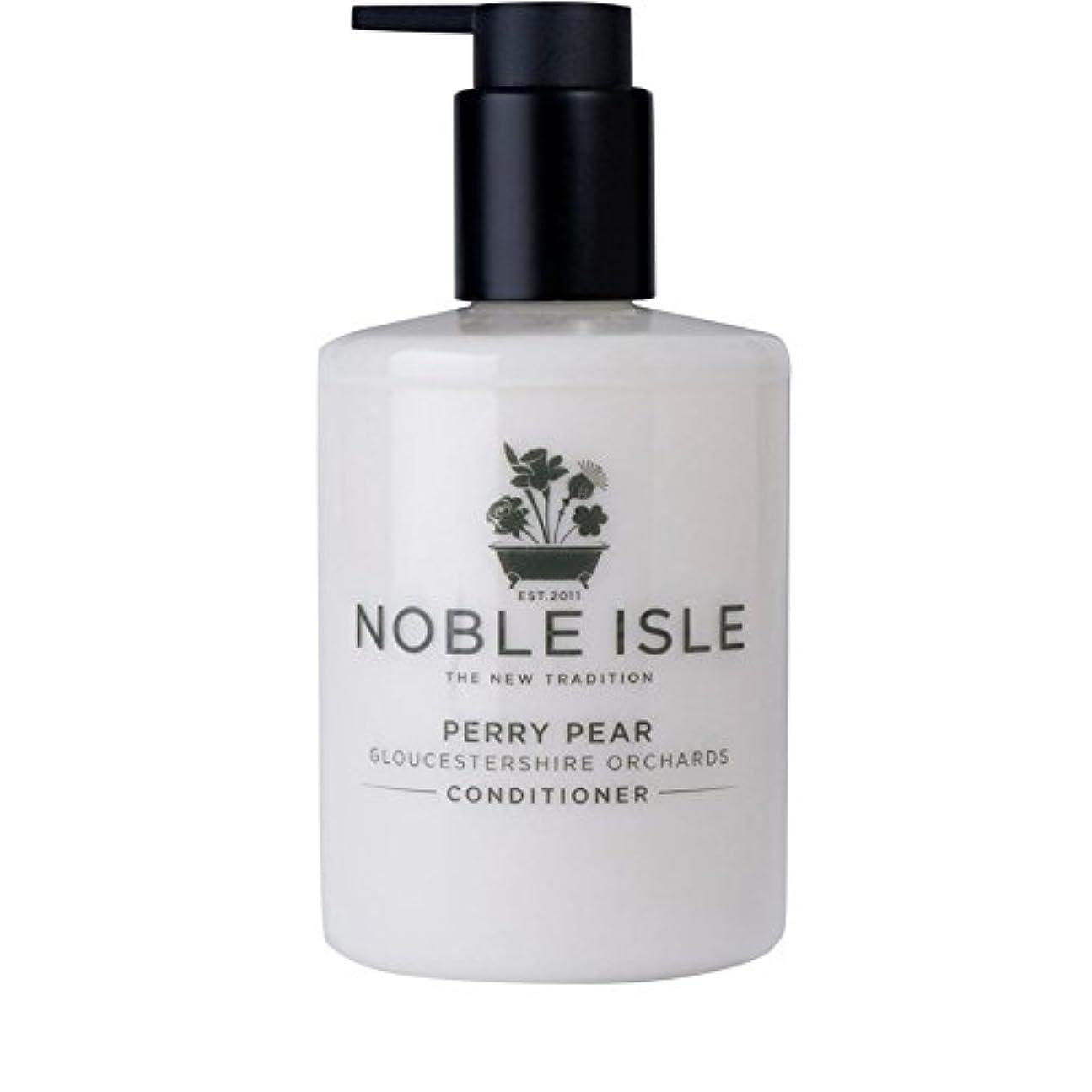 量でチーム不安定Noble Isle Perry Pear Gloucestershire Orchards Conditioner 250ml - 高貴な島ペリー梨グロスターシャー州の果樹園コンディショナー250ミリリットル [並行輸入品]