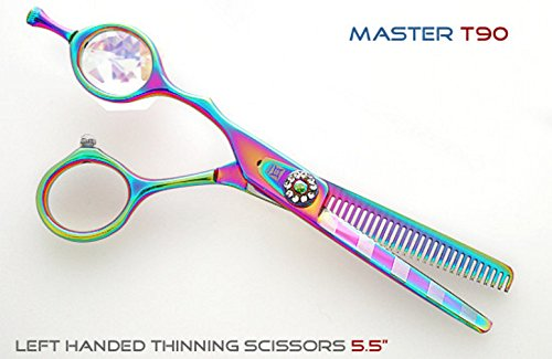 Master L45 Ciseaux à effiler professionnels pour gaucher 14 cm