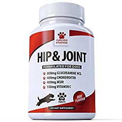 Powerful Ingredients: Our chewable tablets are packed with powerful ingredients to give your dog the best care available. Inside, you'll find 4 vital ingredients, including Glucosamine HCL, Chondroitin, MSM, and Vitamin C. These 4 components come tog...