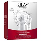 2-speed rotating facial cleansing brush delivers daily deep cleansing and gentle exfoliation ProX by Olay Exfoliating Renewal Cleanser renews skin texture for a refreshed, smooth feel Facial Cleansing System delivers superior cleansing on hard-to-rem...