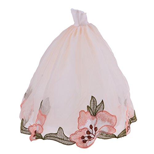 D dolity elegante muñeca Noche de Bodas–Vestido de novia vestido ropa de muñeca para 30cm muñeca boda Party Dress Up # A