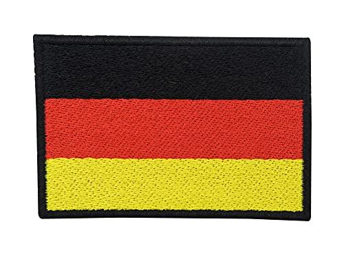 Deutschland Flagge Patch mit Klett Rückseite | B&eswehr Klettpatches, Deutsche Fahne Patches, Germany Flag Klettpatch Finally Home