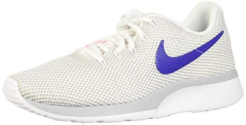 Nike Wmns Tanjun Racer, Zapatillas para Mujer, Blanco (White/Concord/Wolf Grey/Laser 103), 43 EU