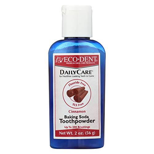 Eco-dent Daily Care Toothpowder Cinnamon -- 2 oz by Eco-Dent