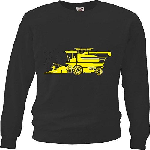 Sweatshirts Haying Mizclar BARRENDERO Tractor grasmaaier Life Streetwear Hiphop Salsa Legendario in zwart