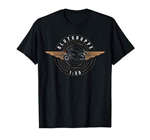 DDR Moped   Blutgruppe 1:50 Sprit für die Kolben im 2 Takter T-Shirt