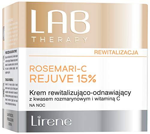 Lirene LAB Therapy Rosemari-C Rejuve 15%   Nachtcreme