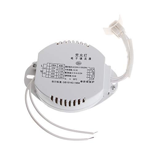 Rtengtunn Balasto electrónico para Tubos anulares Balastros Luces Lámpara Fluorescente Rectificador