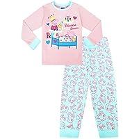 The PyjamaFactory - Pijama de Pijama para niña Rosa Rosa 3-4 Años
