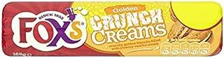 Fox's Golden Crunch Creams Biscuits 12 x 168g Packs (Bulk Buy)