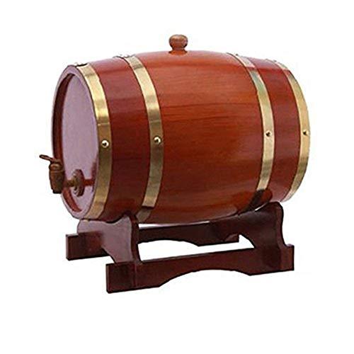 Barril de vino de madera Barril De Vino De Fiesta De 5L, Papel De Aluminio Incorporado, Barril De Whisky, Gabinete De Vino, Depósito De Vino, Restaurante, Bar, Decoración De Bodas, Brandy Barril