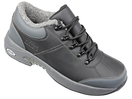 Oregon Mudders Mens CM400S Waterproof Oxford Golf Shoe with Spike Sole 11M US Mens Grey