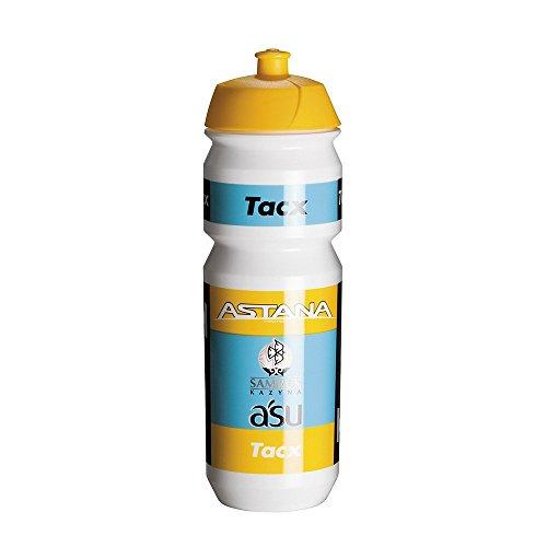 Tacx Trinkflasche Shiva Bio 750 ml Team Astana 2015, Weiß
