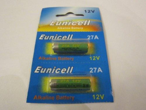 Eunicell 2 Batterien für WEBASTO T90 Standheizung Handsender Fernbedienung 2 x 12V für BMW Mercedes VW Skoda Audi EINWEG