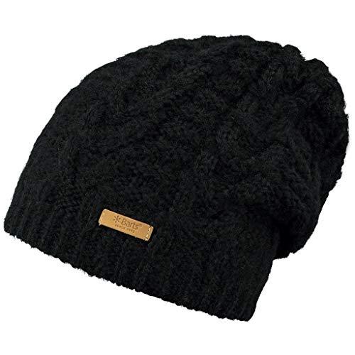 Barts Damen Anemone Baskenmütze, Schwarz (Nero 1), One Size (Herstellergröße: 5)