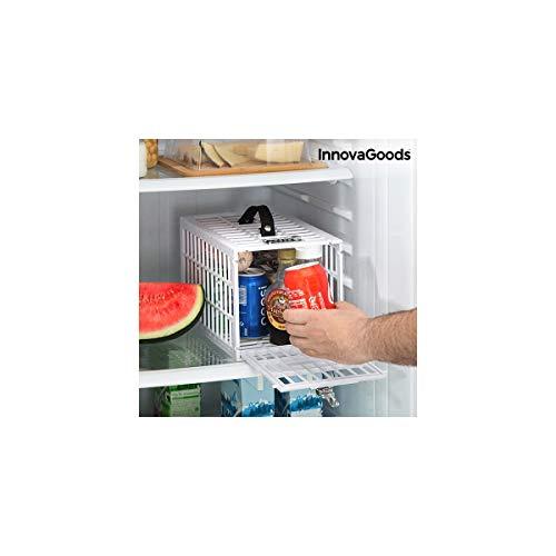 InnovaGoods Sicherheitskäfig für Kühlschränke, Weiß, Einheitsgröße