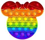 Fidget Toy Juguete Antiestres - Pop It Sensorial Minni Mous para Niños y Adultos - Bubble Push Pop it Minni - Juguetes Antiestrés de Explotar Burbujas para Aliviar estrés y Ansiedad.