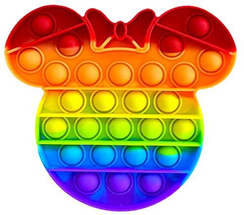 Fidget Toy Juguete Antiestres - Pop It Sensorial Minni Mous para Niños...