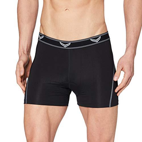 Trigema Herren 631310 Sportunterwäsche, Schwarz (schwarz 008), Large