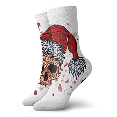 Calcetines deportivos de algodón de 30 cm de largo para Navidad, Acción de Gracias de Año Nuevo Kull